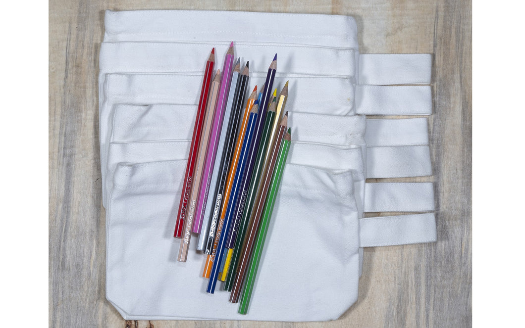 Multipurpose Cotton Canvas Zipper Pouch