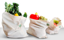 Load image into Gallery viewer, Reusable Farmer's Market Bags Set - 9 Pieces