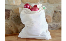 Load image into Gallery viewer, Organic Cotton Muslin Produce Bags