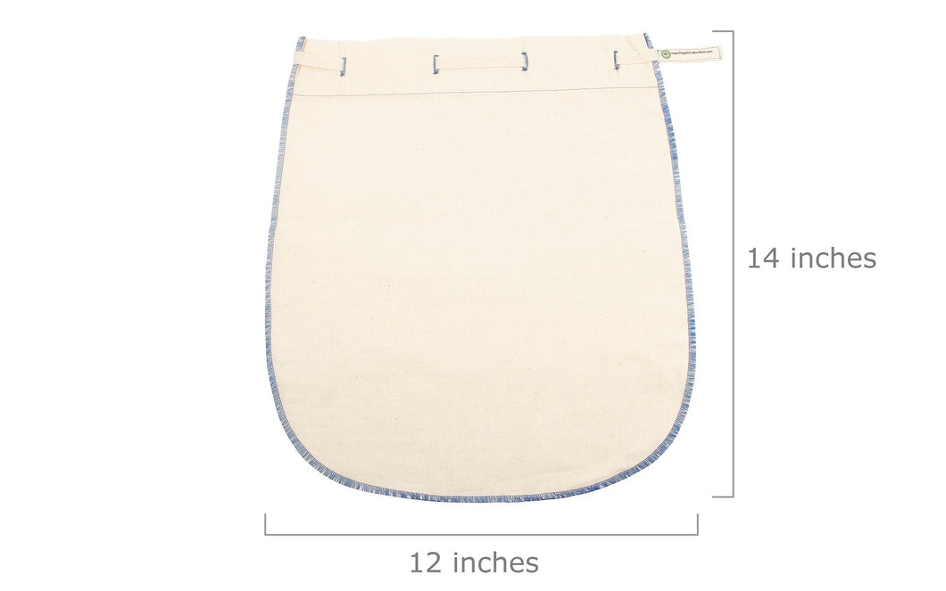 Organic Cotton Straining & Filtration Bags