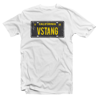 VSTANG License Plate Tee - White