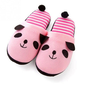 2017 Fashion Women indoor Plush Slippers Shoes Cute Panda Shoes Keep warm and comfortable - Baby Gifts Delivered
