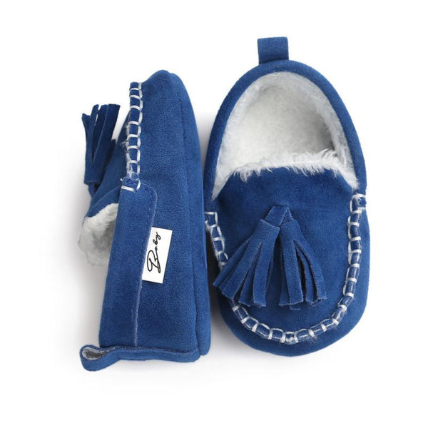 2017 Winter Baby Pu Leather Infant Suede Boots Baby Moccasins Newborn Princess Baby Shoes - Baby Gifts Delivered