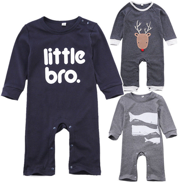 Baby Boys Romper Girls Jumpsuit Kids Clothing Winter Newborn Animal Cartoon Baby Body Suit Cartoon Long Sleeve Clothes - Baby Gifts Delivered