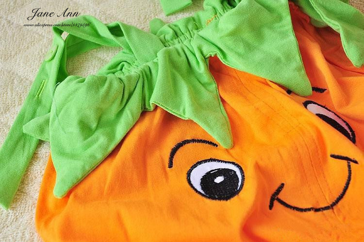 Adorable Halloween Baby Romper Pumpkin Costume - Baby Gifts Delivered