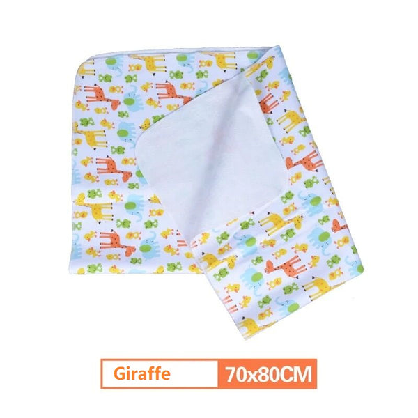 Bamboo Baby Changing Pads - Newborn Waterproof Changing Mat For Crib - Baby Gifts Delivered