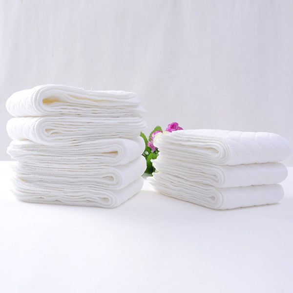Cotton cloth diaper Inserts - 10 pack - Baby Gifts Delivered