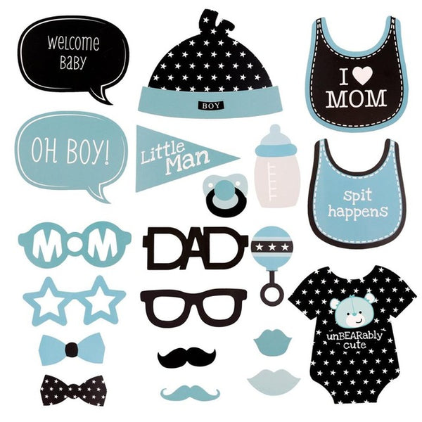 Baby Shower, baby birthday, gender announcement party decorations - Baby Gifts Delivered
