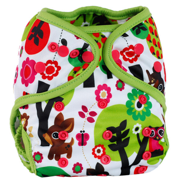 Designer Pocket Cloth Diaper with Snaps - Baby Gifts Delivered