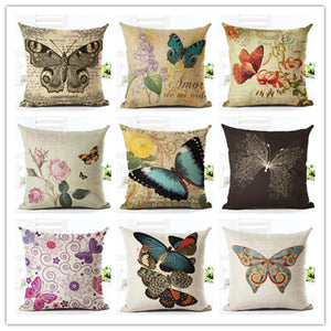 Chic Butterfly Cushion Cover - Home Décor, Throw Pillow Case