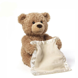 Peekaboo Teddy Bear - Electronic Plush Toy That Plays Hide And Seek