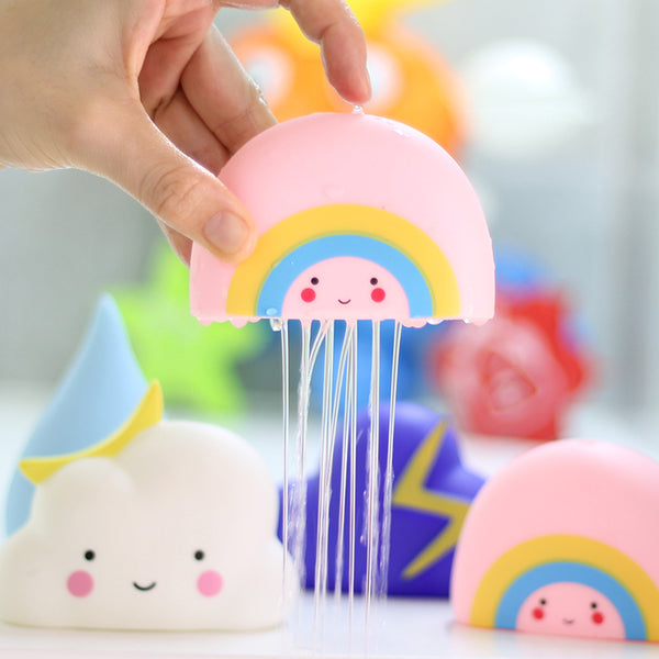The Cloud...FOR BABY! Novelty Rain Cloud Tub Toys
