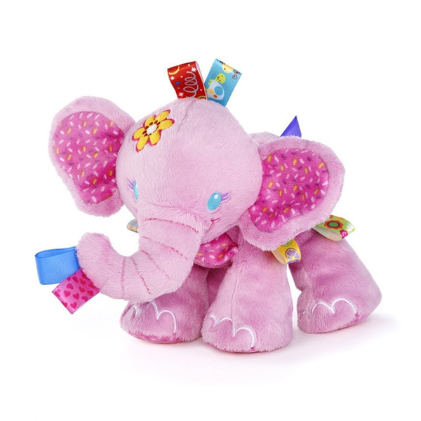 PINK ELEPHANTS! Soft Cartoon Elephant - Baby Toys For Newborns 0-12 Months - Educational Toys For Baby