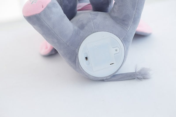 Peek-a-boo Plush Elephant with Singing Feature