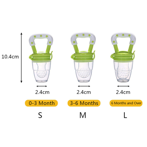 1Pcs Baby Pacifier Fresh Food Milk Nibbler Feeder Kids Nipple Feeding Safe Baby Supplies Nipple Teat Pacifier Bottles - Baby Gifts Delivered