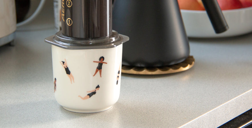 Aeropress in the Float Mug