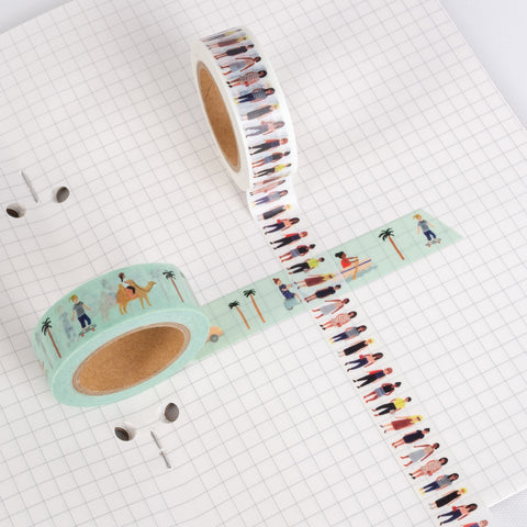 Washi Tape - On the Move