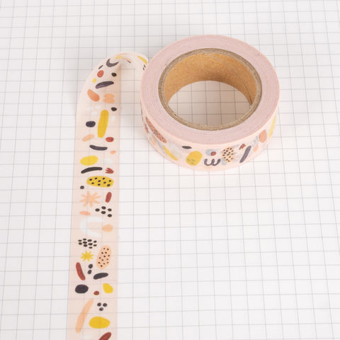 Washi Tape - Red Confetti