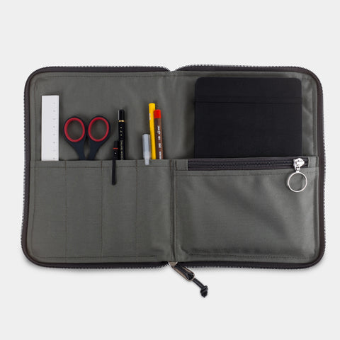 Notebook Case - Foliage Gray