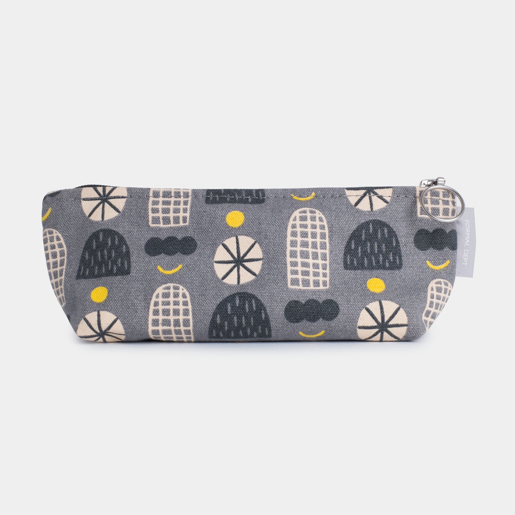 Small Zip Pencil Case - Shapes