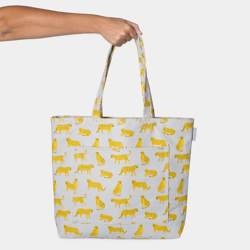 Shoulder Tote - Cheetah