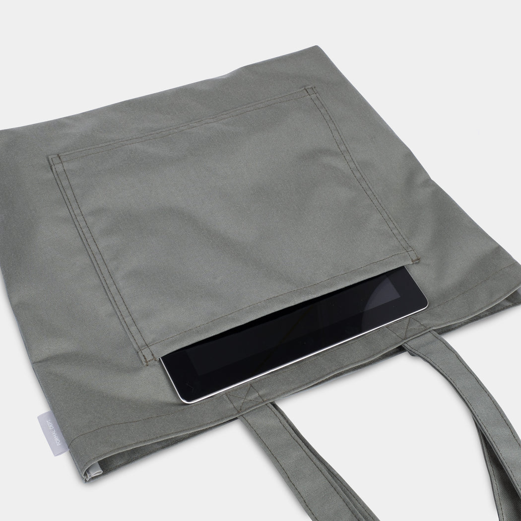 Shoulder Tote - Foliage Gray
