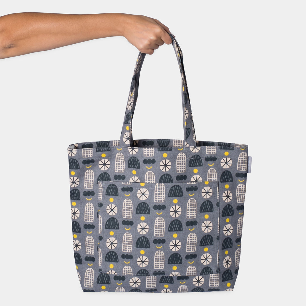 Organizer Tote - Shapes