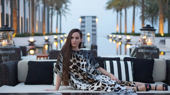 "0- YARA YOSIF "" Honey Moon"" KAFTAN"