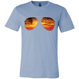 Sunglasses on the Beach Mens T Shirt