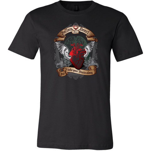 Follow Your Heart Mens T Shirt