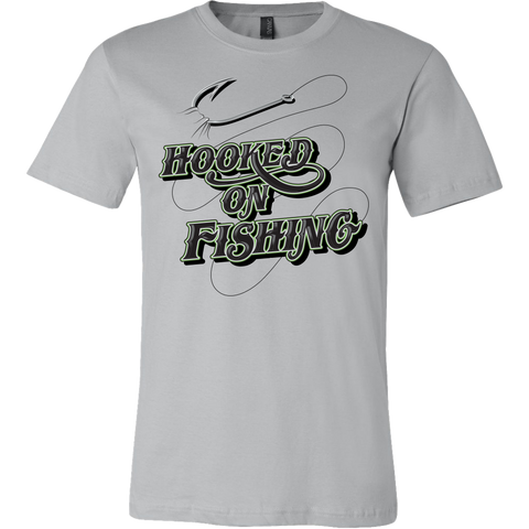 Hooked on Fishing Mens T Shirt