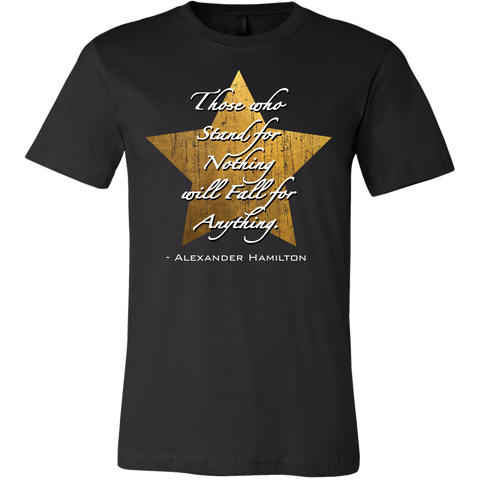 Hamilton Quote Mens T Shirt