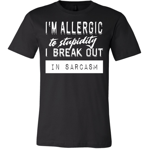 Sarcasm Mens T Shirt