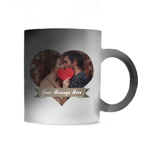 Magic Mug Heart design