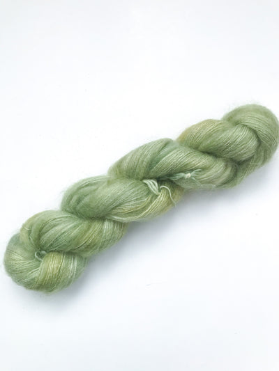 Mohair Lace Weight Yarn - Avocado