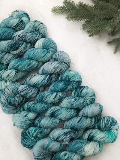I Smell Snow - Supra Sock Holiday Yarn