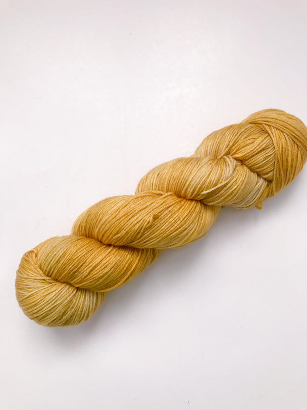 Merino Fingering Weight Yarn - Marigold