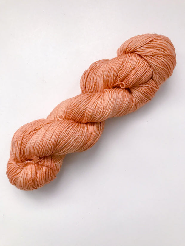 Merino Fingering Weight Yarn - Tangerine Dreams