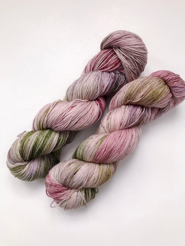 Merino Fingering Weight Yarn - Apple Cider