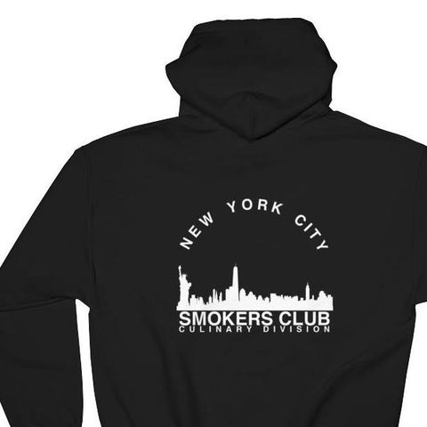 [nyc smokers club hoodie] - forked shirts
