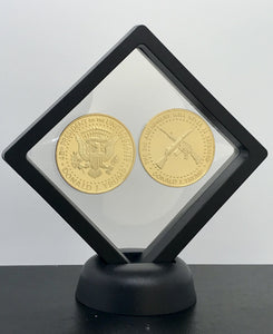 2019 Freedom Liberty Presidential Coin Set + Coin Display Case