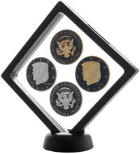 Presidential Coin Set + Coin Display Case