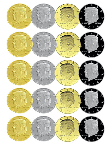LIMITED EDITION 20-Coin set!
