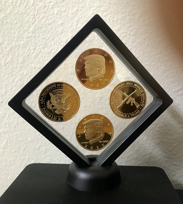 NEW 2020 Presidential Coin Set + Coin Display Case