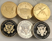 LIMITED EDITION Trump Presidential & Melania Coins Set of 6