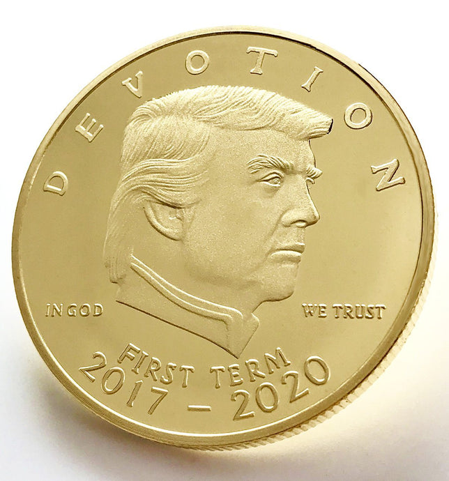 NEW Trump Golden Presidential 1st Term Coin