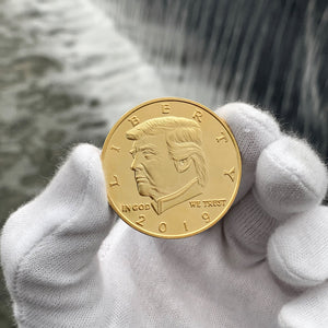 2019 Golden Trump Presidential Coin