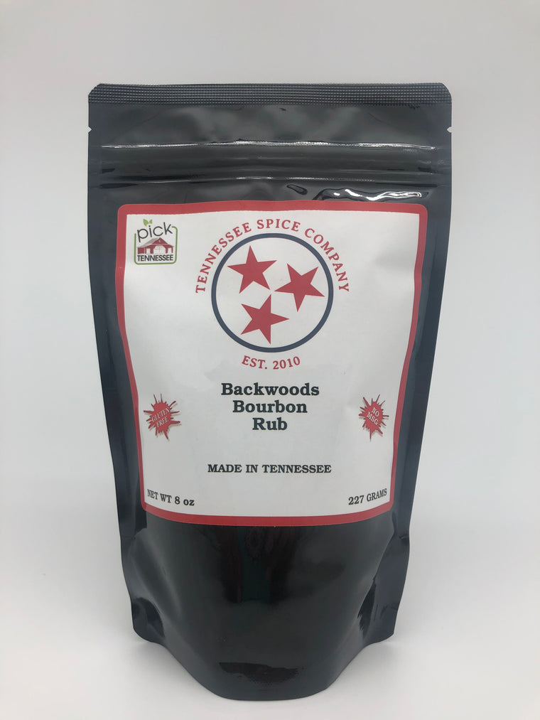 Backwoods Bourbon Rub - TN Spice