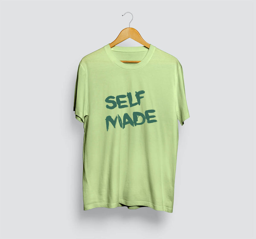 Self Made Neon Green T-Shirt