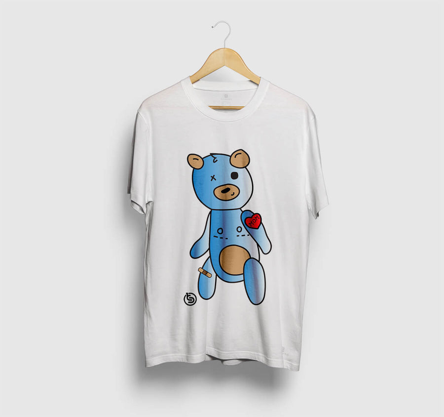 Teddy Tee White